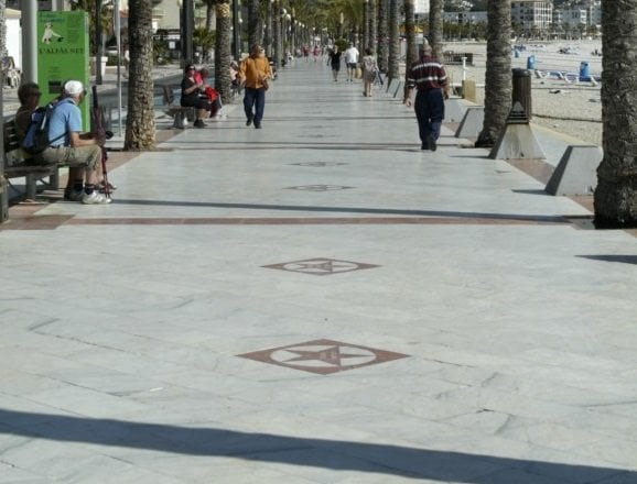 alfaz del pi taxi 8 plazas aeropuerto valencia
